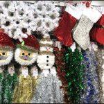 ダイソークリスマス2016ツリー飾りリースオーナメントLED画像