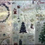 セリア100均クリスマス2016ウォールステッカー商品画像