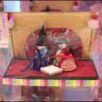 ダイソー100均ひな祭り2017雛人形飾り桜お雛様グッズ画像