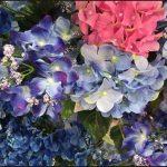 ダイソー100均紫陽花造花画像一覧!あじさい花冠リースなど