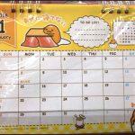 キャンドゥ100均卓上・壁掛けカレンダー2018【画像】サンリオ等