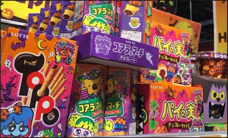 ハロウィン市販のお菓子2017スーパーコンビニ【画像】個包装も