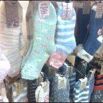 ダイソー100均もこもこ靴下【画像】あったかグッズ ルームシューズ