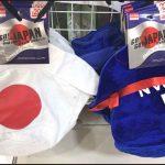 ダイソー100均日本応援グッズ【画像】オリンピック2020やワールドカップ応援に!