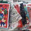 セリア100均クリスマス2017ラッピング プレゼント袋【画像】