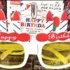 ダイソー誕生日バースデーパーティー帽子メガネ飾り付けグッズ画像